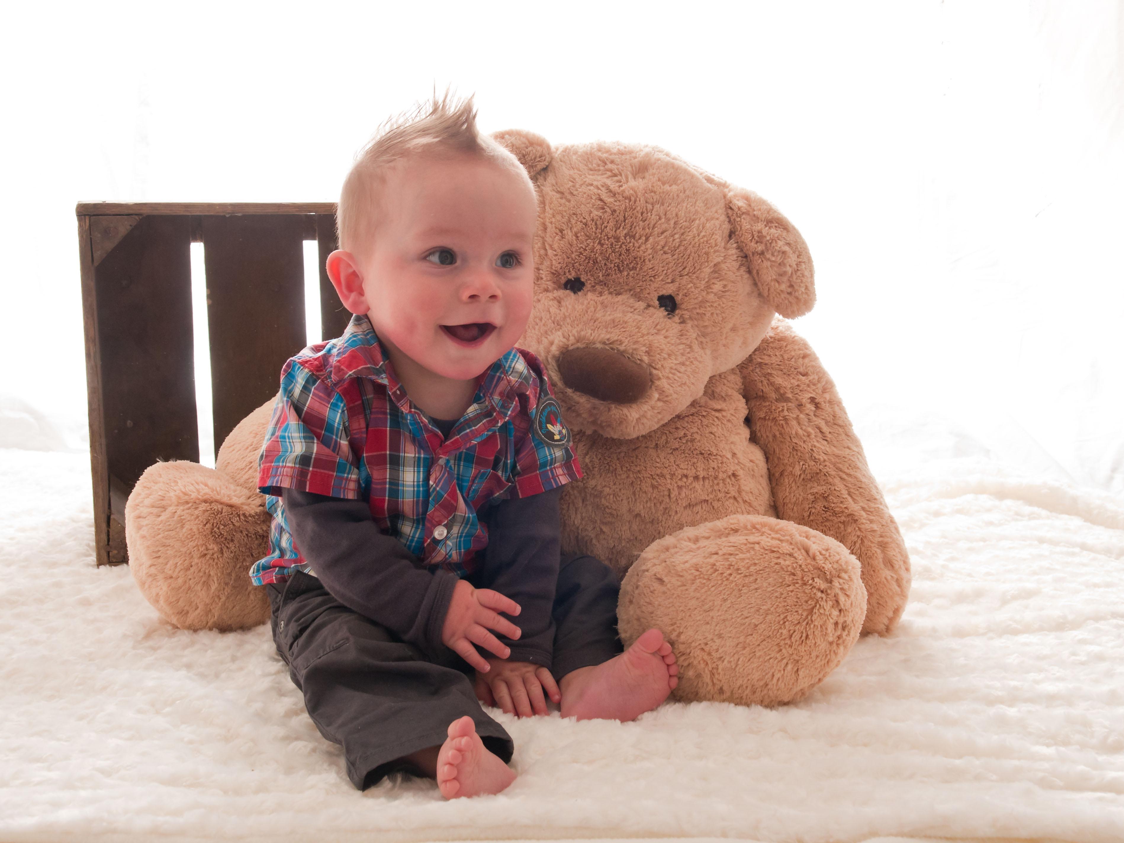 どうしてシュタイフ社のテディベアが赤ちゃんにおススメなの?
