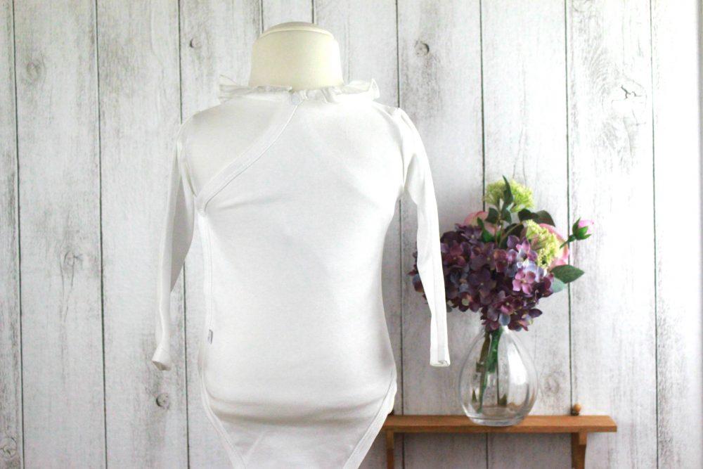 Maison de joie2016aw新商品情報:ジャカディよりフリル襟の長袖ボディを入荷しました!