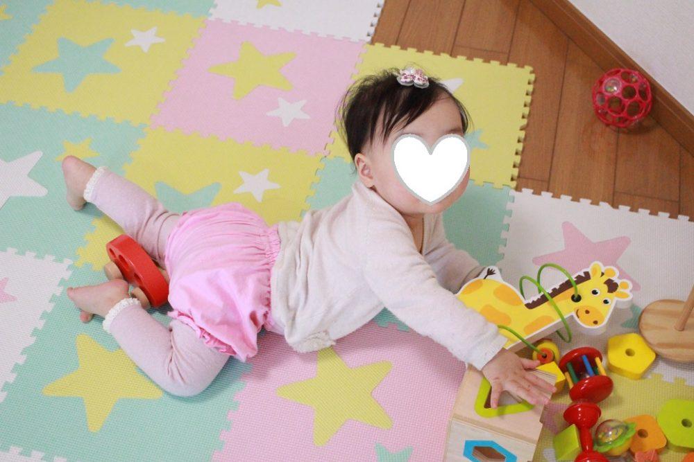 ハイハイ期の赤ちゃんにおすすめコーディネート