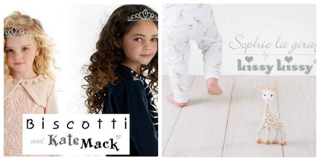 新商品第2段はBiscotti&KateMackとKissyKissyの2ブランド♡