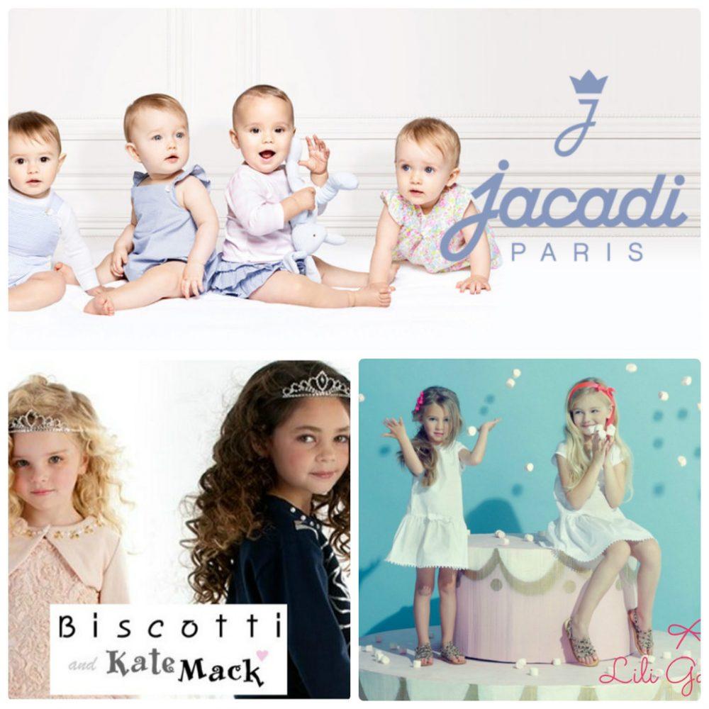 新しく追加したのはjacadi、Biscotti&KateMack、Lili Gaufretteの3ブランドの商品!
